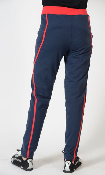 Red Accent Activewear Sport Pants