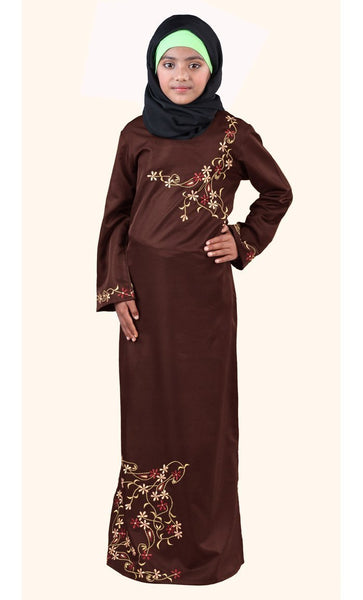 Aabish Girls Abaya - EastEssence.com