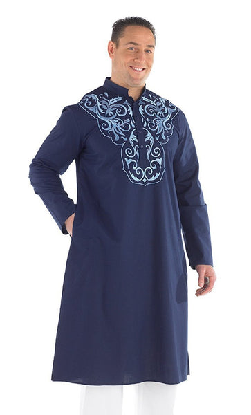 Aarib Embroidered Men's Kurta - EastEssence.com