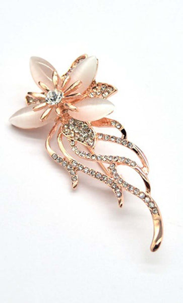 Baby Pink Flower Hijab pin - EastEssence.com
