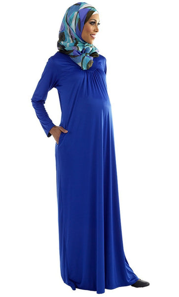 Basic and casual wear maternity wear abaya dress - EastEssence.com