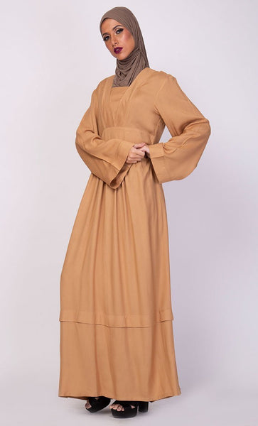 Basic Everyday Abaya Dress - EastEssence.com