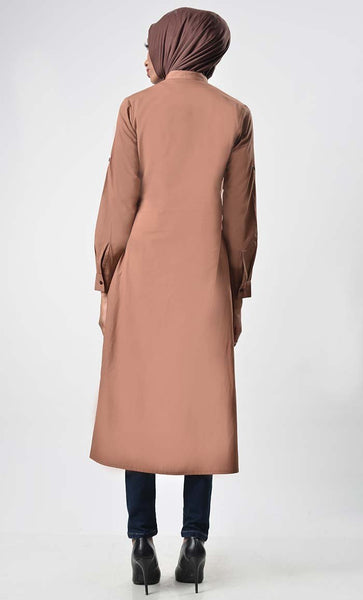 Basic everyday cotton tunic - EastEssence.com