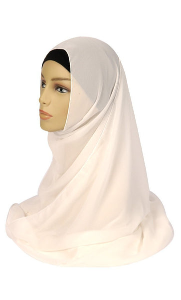 Basic Everyday Wear Georgette Hijab - EastEssence.com