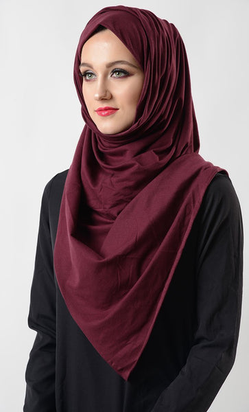 Basic Everyday Wear Hijab Stole - EastEssence.com