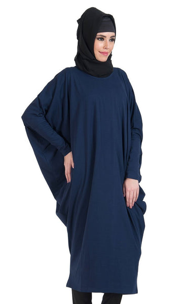 Batwing Extra Long Basic Tunic - EastEssence.com