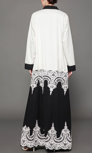 Beautiful Trendy Shrug With Lace - *Size Up* - EastEssence.com