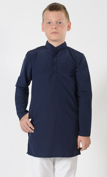 Boys Basic Kashibo Uniform Tunic - Final Sale - EastEssence.com