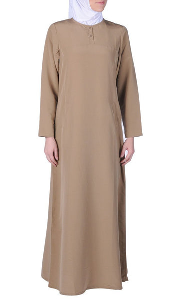 Casual Everyday Comfortable Amatullah Abaya Dress - EastEssence.com