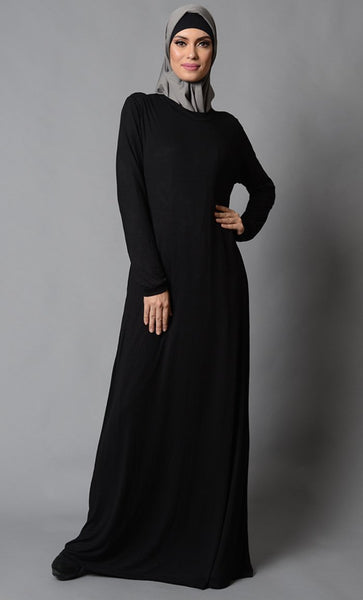Casual Everyday Wear Abaya Dress - EastEssence.com