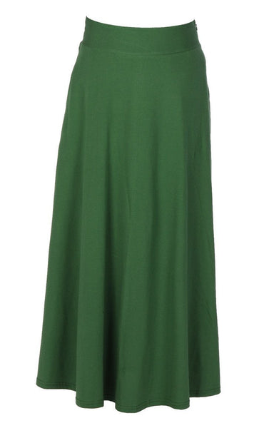Casual Wear Long Flared Skirt - EastEssence.com