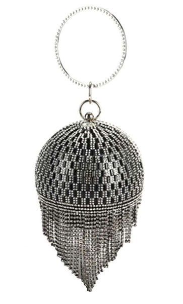 Chandelier Crystal Tote Bag - Black - EastEssence.com