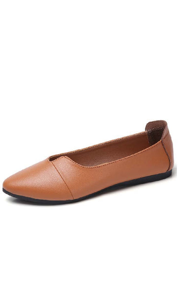 Chic and classic Shoes - Brown - *Size Up* - EastEssence.com