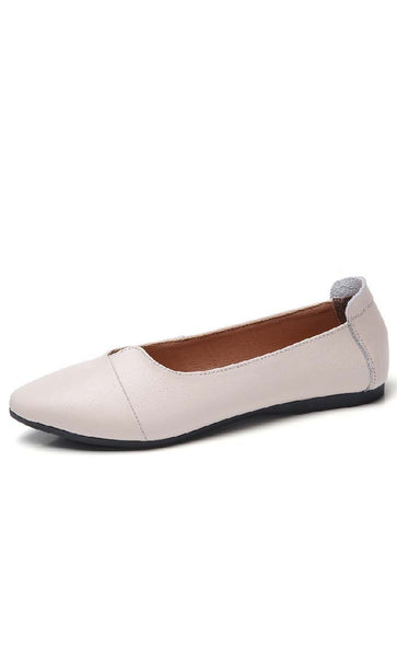 Chic and classic Shoes - White - *Size Up* - EastEssence.com