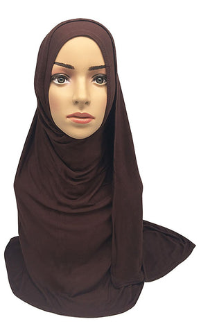 Basic Premium Modal Cotton Women'S Hijab Stole