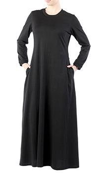 Comfortable T- Shirt Abaya Dress - EastEssence.com