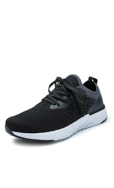 Comfy Sports Shoes - Black - *Size Up* - EastEssence.com