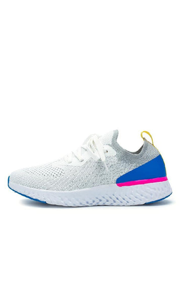 Comfy Sports Shoes - White - *Size Up* - EastEssence.com