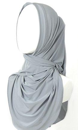Convertible Wrap Hijab by The Hijab Lab-Without Ear Port - Final Sale Item - EastEssence.com