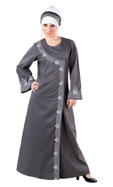 Cotton Arabian Princess Abaya/ Jilbab - EastEssence.com