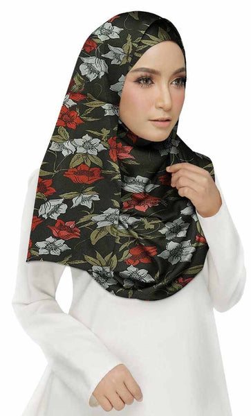 Cotton Printed Women's Stole Black - EastEssence.com