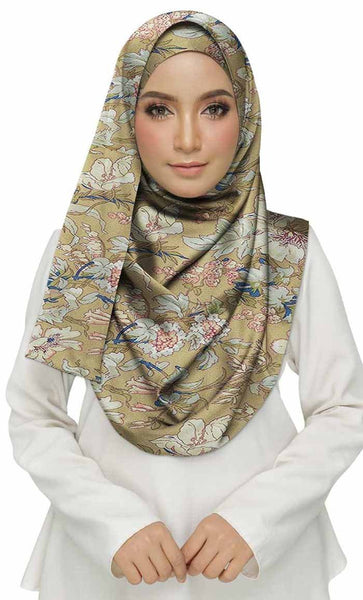 Cotton Printed Women's Stole Brown - EastEssence.com