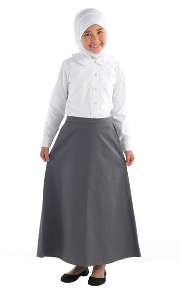 Cotton Twill Uniform Skirt- Women's Size - EastEssence.com