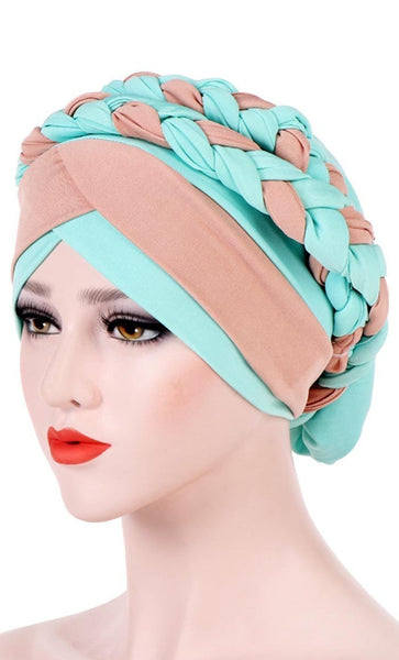 Double Braided Basic Bonnet-(Travel Edition) - *Size Up* - EastEssence.com