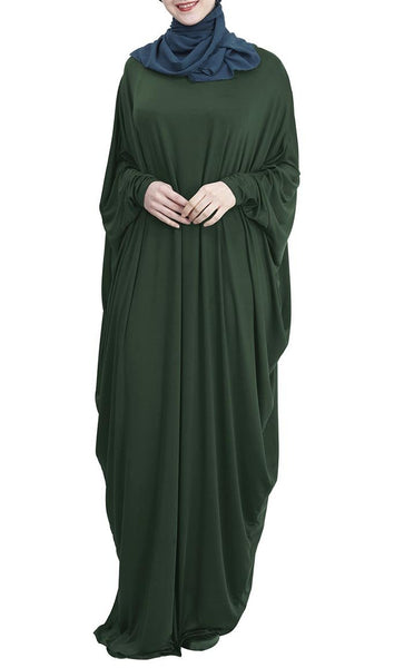 Easy Everyday Kaftan Style Abaya Dress - *Size Up* - EastEssence.com
