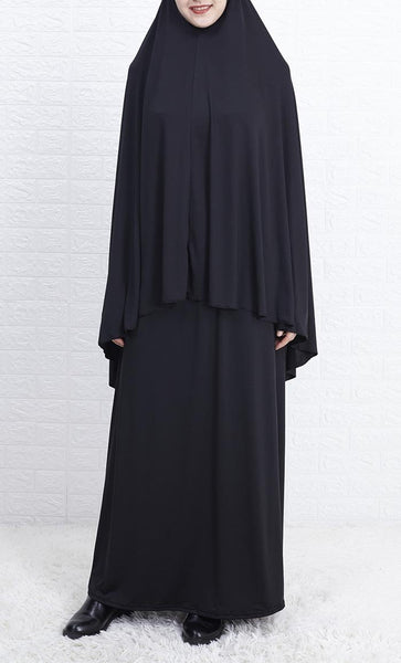Everyday 2pcs Abaya and Hijab Set - *Size Up* - EastEssence.com