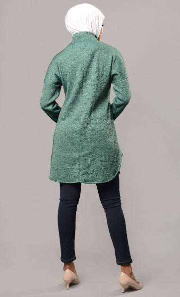 Everyday basic pullover dress-Final Sale - EastEssence.com