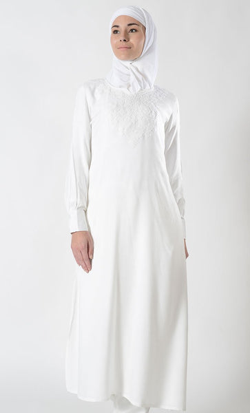 Extra Long Hajj Umrah Tunic - EastEssence.com