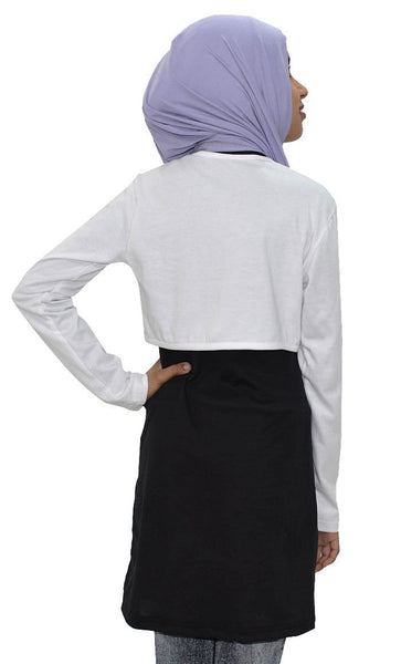 Girl Short Shrug-White - EastEssence.com