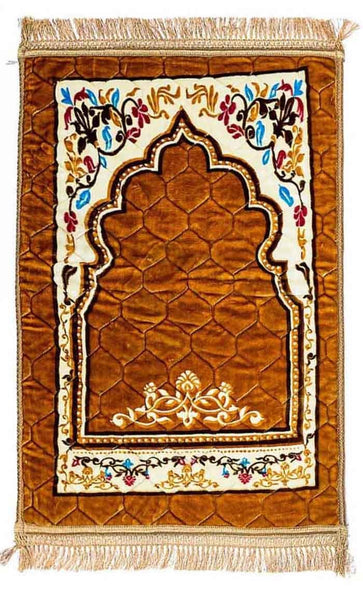 High Quality Prayer Rug- Yellowish - EastEssence.com