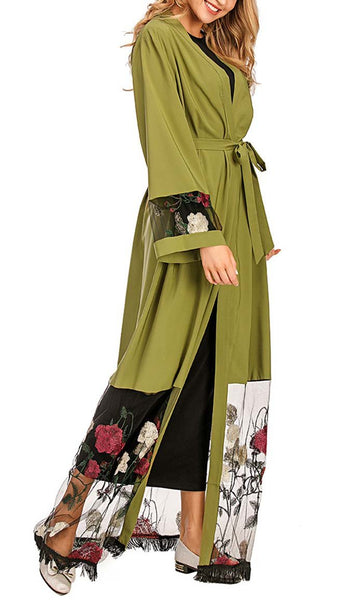 Is it Spring Rose Shrug - *Size Up* (Green) - EastEssence.com