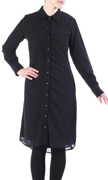Jalees Georgette Tunic - EastEssence.com