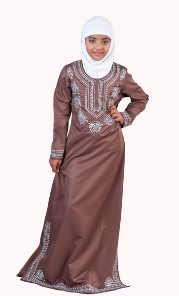 Jasmin Girls Abaya - EastEssence.com