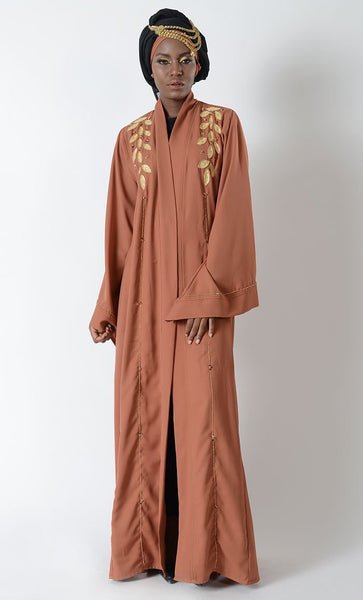 Jeweled Eid Bisht Duster + HIjab - EastEssence.com