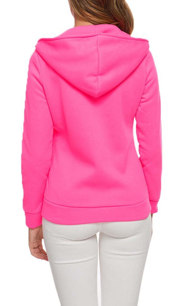 Love For Feelce Jacket - Rose - *Size Up* - EastEssence.com