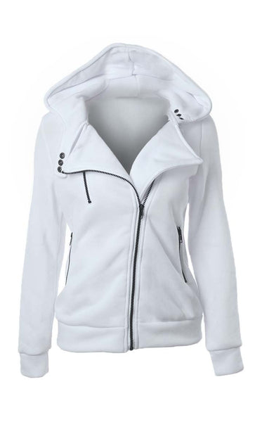 Love For Feelce Jacket - White - *Size Up* - EastEssence.com