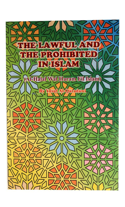 Halal Wal Haraam Fil Islam-Lawful & Prohibted In Islam -  FINAL SALE ITEM_Front_View