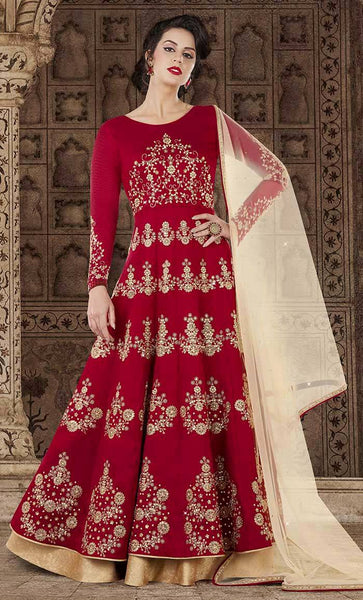 Elegant Traditional sequin salwar kameez-Final sale item_As Pictured_Front_View