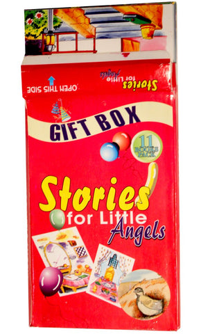 Gift Box - Stories For Little Angels   ( 11 Books Set) -  FINAL SALE ITEM_Front_View