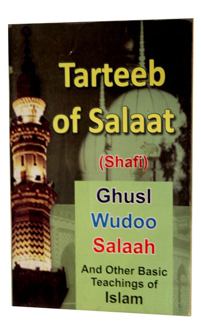 Tarteeb of Salaat  -  FINAL SALE ITEM_Front_View