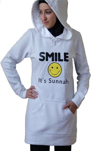 Proud2B Sunnah Hoodie_Heather Grey_Front_View
