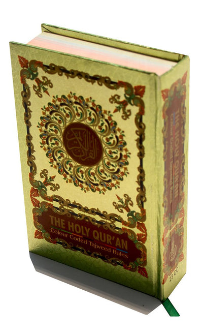 The Holy Quran - Color Coded- Final Sale_Front_View