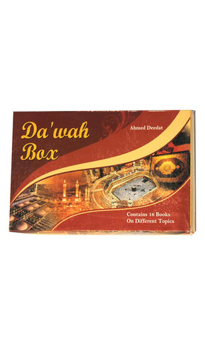 Dawah Box  (16 Books Box) -  FINAL SALE ITEM_Front_View