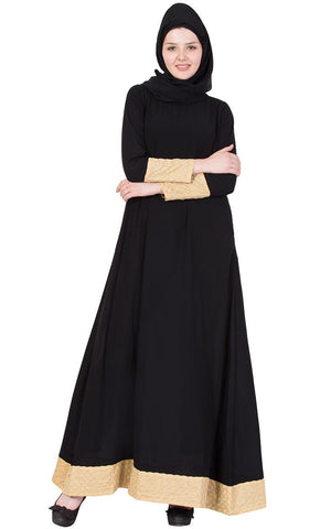 Nida A line abaya dress-Final sale