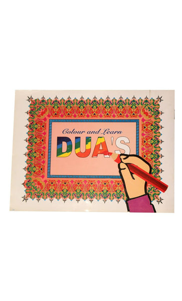 Colour & Learn  - Duas - FINAL SALE ITEM_Front_View