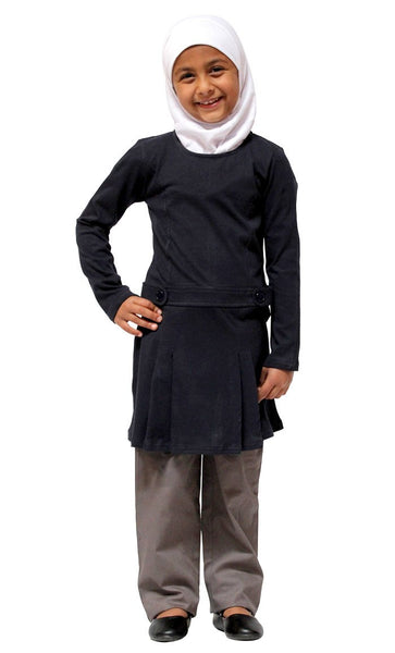 Girls Cotton Uniform Jumper_As Pictured_Front_View